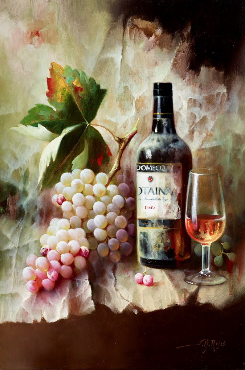 Vino Añejo II by j m reyes -  sized 16x24 inches. Available from Whitewall Galleries